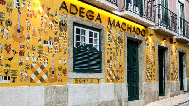 Fachada - Adega Machado, Lisboa