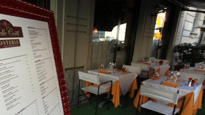 alta cucina - Osteria delle Corti, Milan