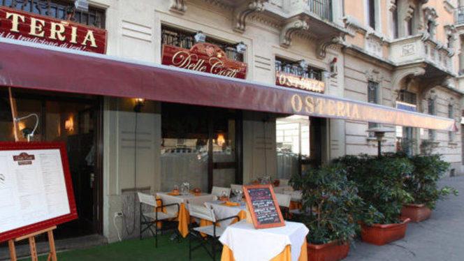 osteria - Osteria delle Corti, Milan