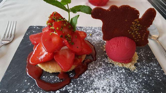 Suggestion de dessert - La Huchette, Carouge