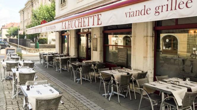 Terrasse - La Huchette, Carouge