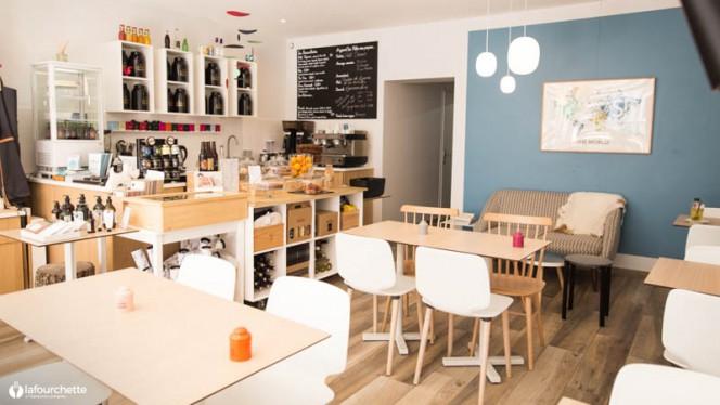 Salon du restaurant - Koeben, Bordeaux