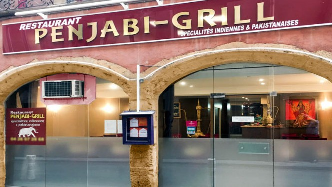 Extérieur de Restaurant - Penjabi Grill, Lyon
