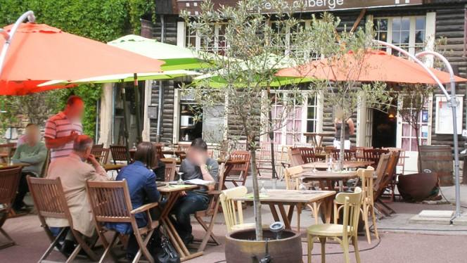 vue de la terrasse - La Petite Auberge, Lyon
