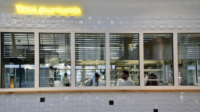 La cuisine ouverte ©Astrid Lagougine - Familia, Bordeaux