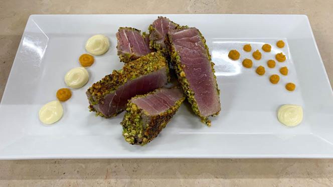 Tagliata di tonno con pistacchi - nana banana,