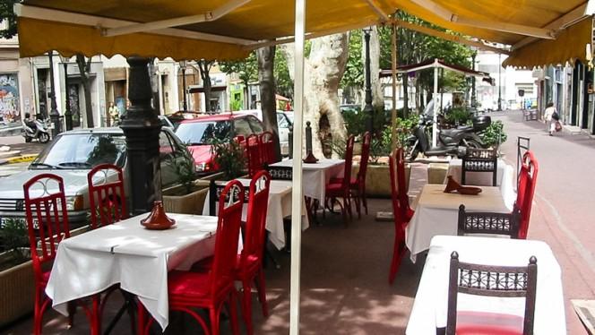 Terrasse - Dar Nejma, Marsiglia