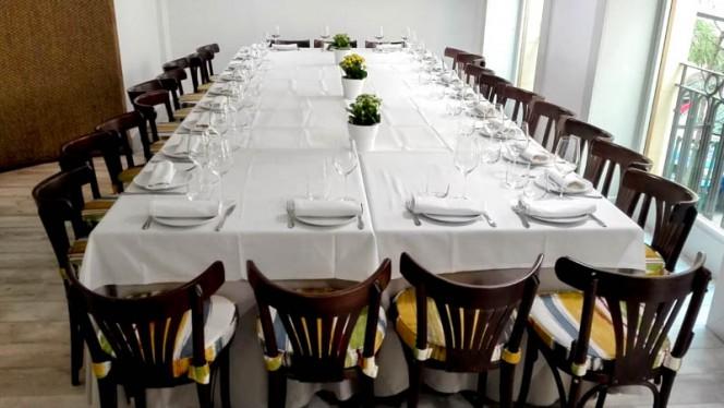 Mesa para grupos - Nagú, Madrid