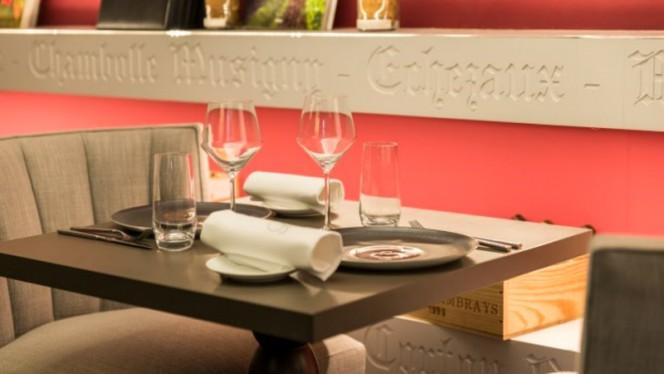 Salle du restaurant - Burgundy Lounge, Lyon