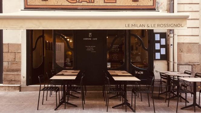 Terrasse - Crêperie Le Milan et le Rossignol, Nantes