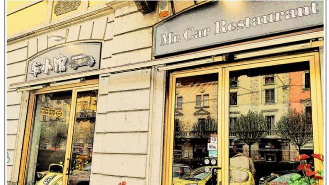 Fuori - Mr.Car Restaurant, Milan