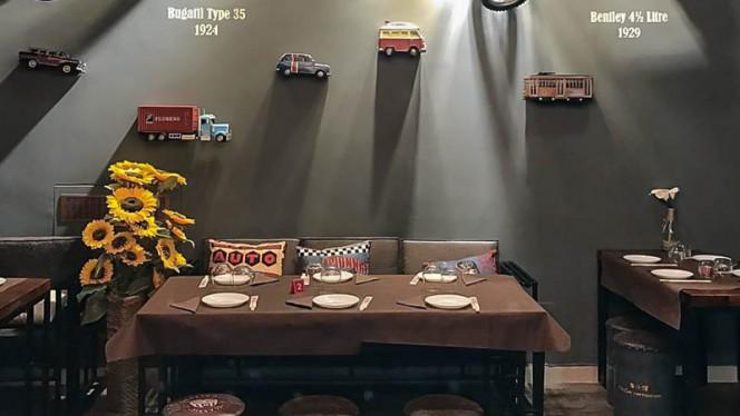 Vista sala - Mr.Car Restaurant, Milan