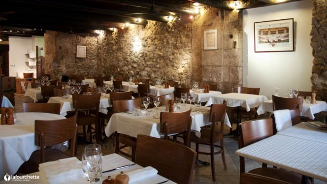 Salle du restaurant - La Côte de Boeuf, Marseille