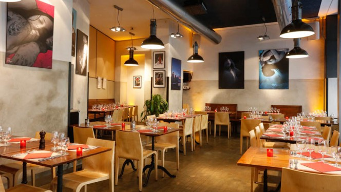 Sallle du restaurant - Le Réservoir, Genève