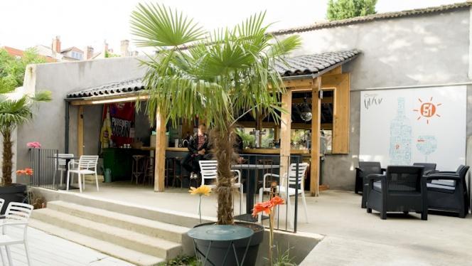 Vue bar - O Jardin, Lyon