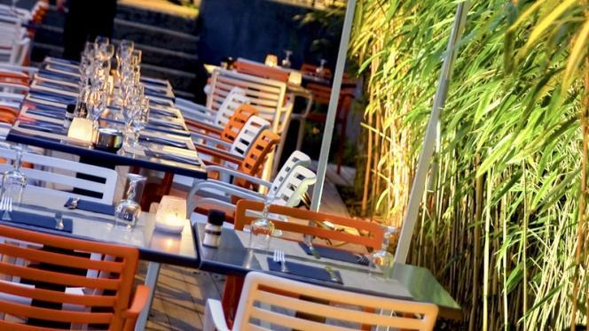 Zoom sur la terrasse - O Jardin, Lyon