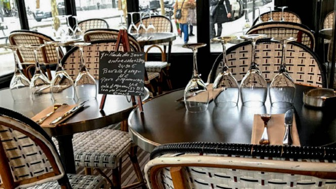 Terrasse - Icosium, Paris