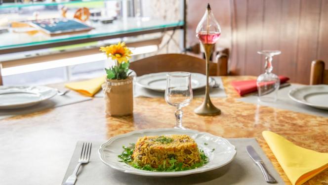 Suggestion de plat - Le Transsibérien - l'Isba, Nice
