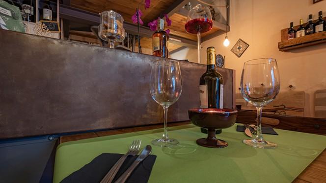 Particolare della sala - Baccanale Bistrot Wine Bar, Lucca