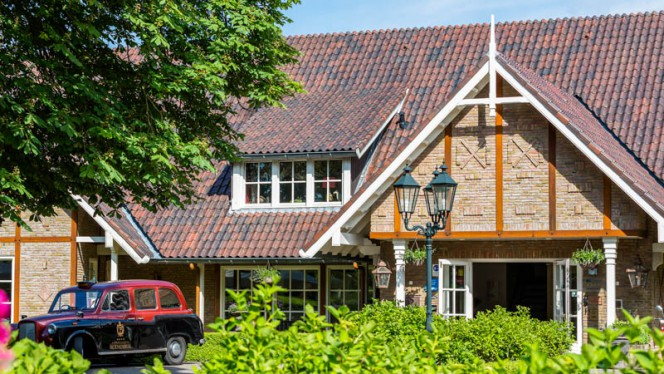 Ingang - Landhuishotel & restaurant De Bloemenbeek, De Lutte