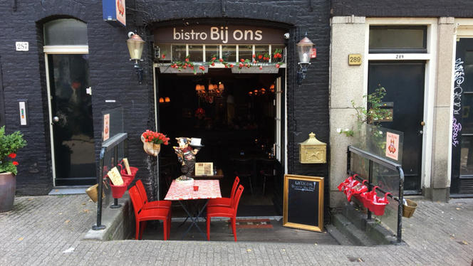 Ingang - Bistro Bij Ons, Amsterdam