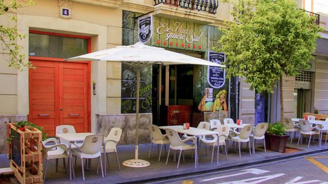 Terraza - Ese Huevo Quiere Sal, Valencia