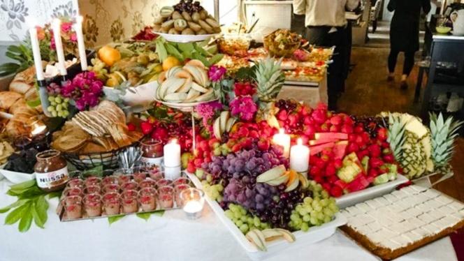 Sweet buffet - Restaurang Gustav Adolf, Malmö