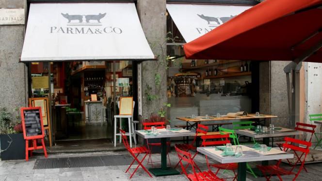 esterno - Parma & Co, Milan