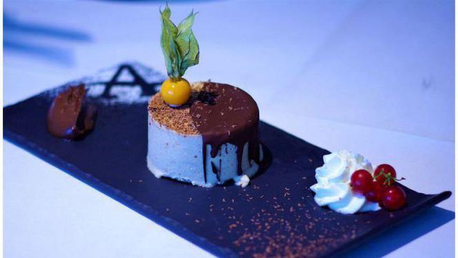 Mousse glacée au praliné - L'Auberge signée EHG, Chambésy