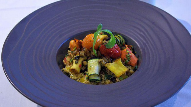 Taboulé aux légumes grillés - L'Auberge signée EHG, Chambésy