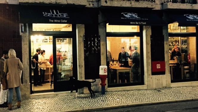 Entrada - The Wine Cellar, Lisboa