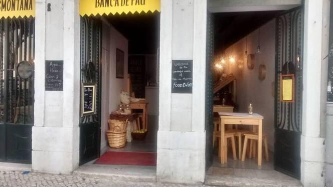 Entrada - Banca de Pau, Lisboa
