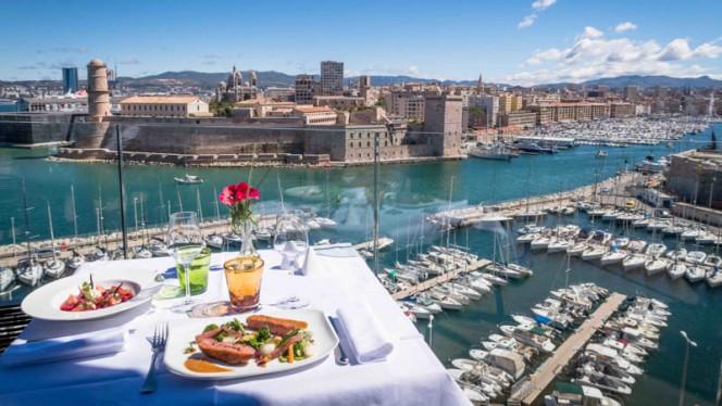 Les créations du Chef Dominique Frérard - Les Trois Forts - Sofitel Vieux Port, Marseille