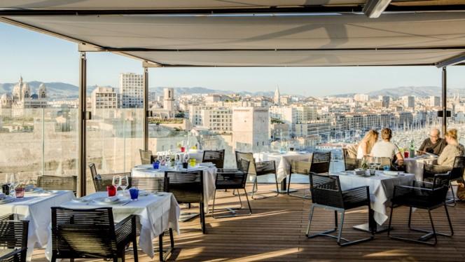 Vue de la terrasse - Les Trois Forts - Sofitel Vieux Port, Marseille