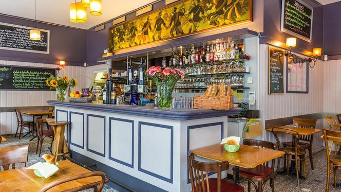 salle - Café des Sources, Genève