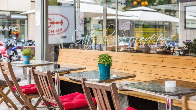 Terrasse - Café des Sources, Genève