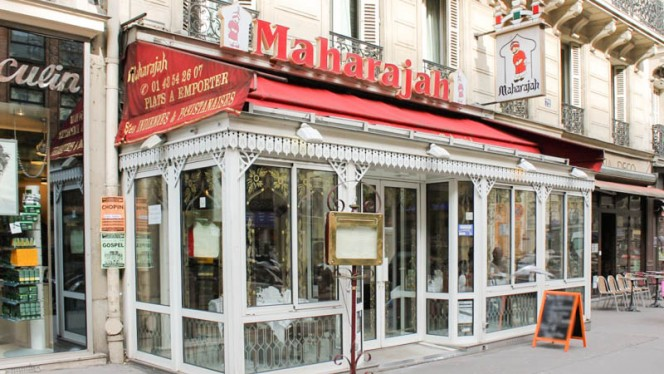 Devanture - Le Maharajah Saint-Germain, Paris