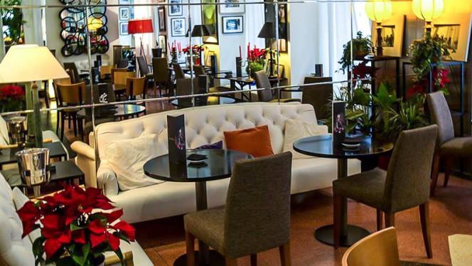Detalle sala - Casa Carolo, Madrid