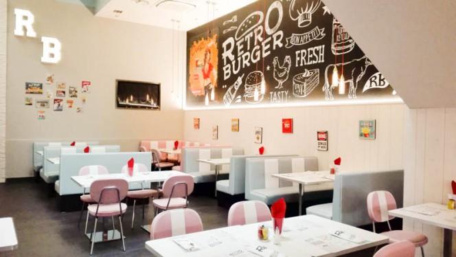 Vista sala - Retró burger, Legnano