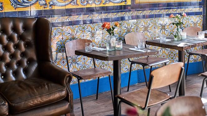 Het restaurant - El Pibe, Amsterdam