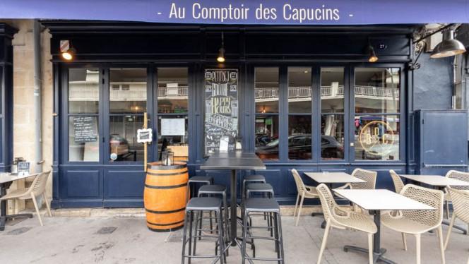 Entrée - Au Comptoir des Capucins, Bordeaux