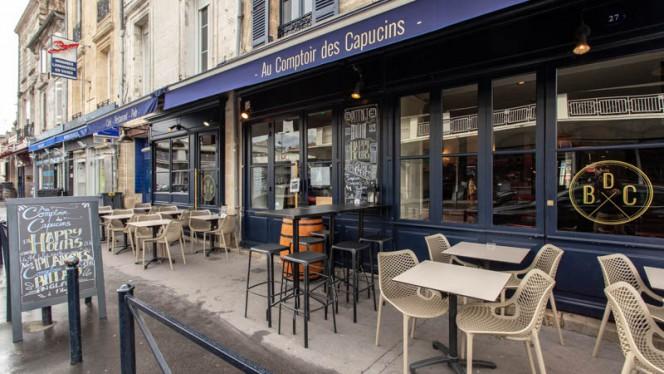 Terrasse - Au Comptoir des Capucins, Bordeaux