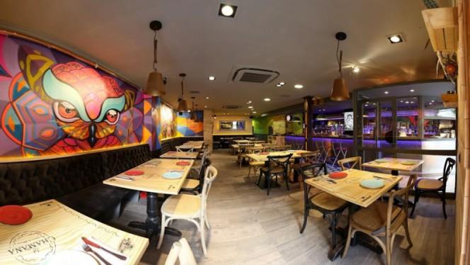 Sala del restaurante - La Chamana, Madrid
