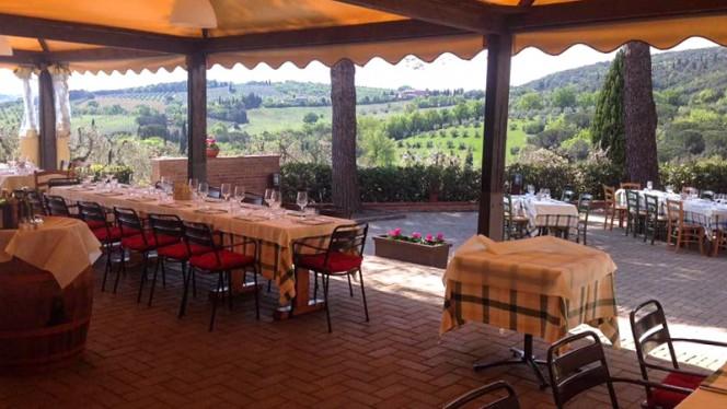 Terrazza - Antica Osteria, San Gimignano