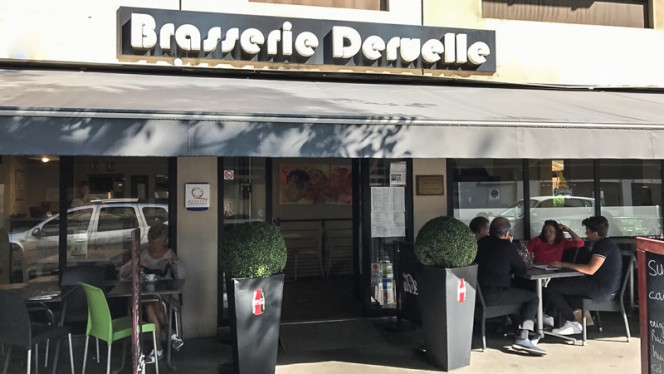 Devanture - Brasserie Deruelle, Lyon