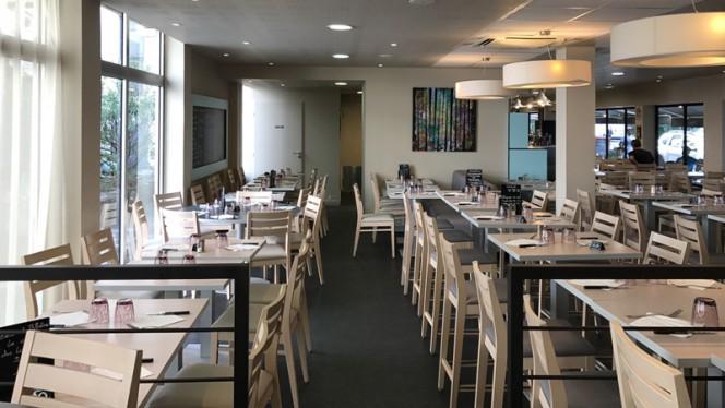 Salle du restaurant - Brasserie Deruelle, Lyon