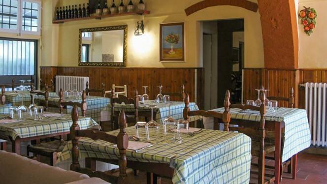 Sala del ristorante - Locanda di Gabbiano, San Casciano In Val Di Pesa