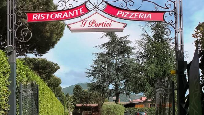 """entrata - Ristorante e Pizzeria """" I Portici """", Marino"""