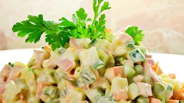 Salade russe - Le Saint-Georges Grillades, Toulouse