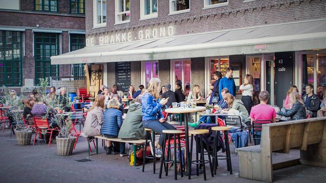 Terras - De Brakke Grond, Amsterdam